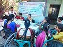 A community meeting on Rights to Family life of persons with disabilities