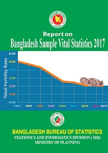 Cover of the Bangladesh Sample Vital Statistics 2017